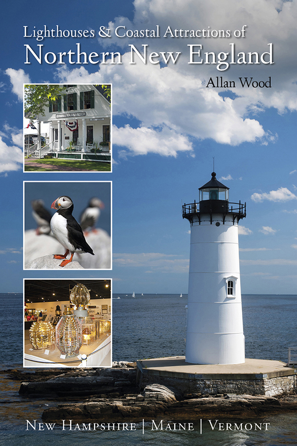 book northern New England lighthouses and attractions