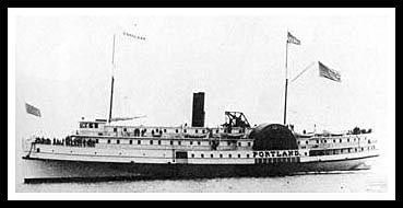 Steamer Portland sank in New England's worst storm