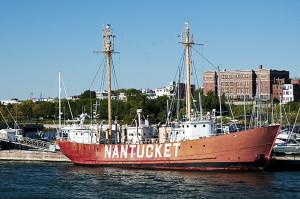 Nantucket Lightship in Newport, Rhode Island