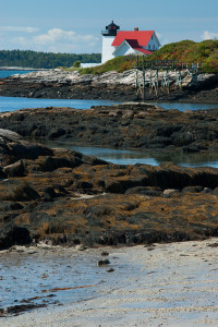Hendricks Head Lighthouse in Maine's Boothbay Region