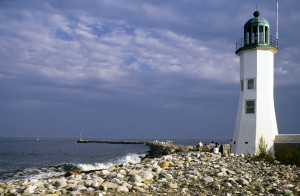 Scituate Lighthouse Ocean View