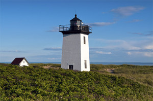 Wood End Lighthouse in Provincetown, Massachusetts.