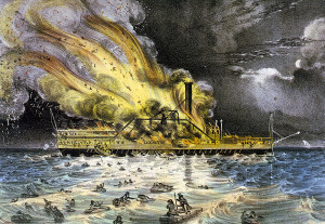 Illustration of Lexington Fire.