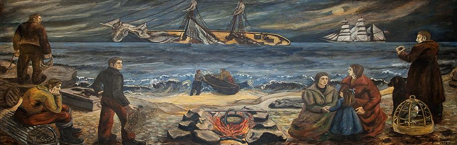 Bohemian Wreck Mural
