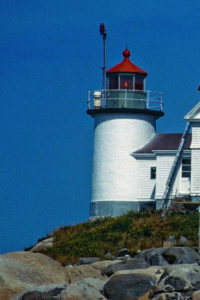 Heron Neck Project allowed the Coast Guard to maintain only the beacon itself.