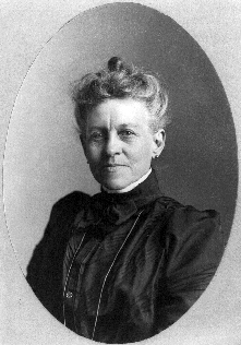 Ida lewis in later years. Photo courtesy of US Coast Guard.