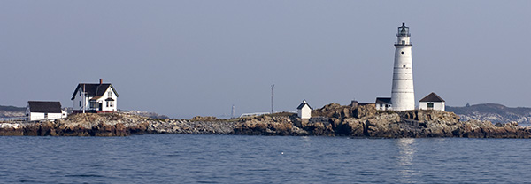 Boston Harbor Lighthouse on Little Brewster Island