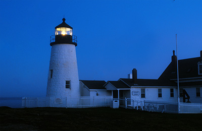 Haunted Pemaquid Point Lighthouse