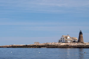Maine's most remote lighthouse.