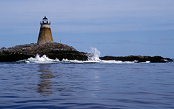 Saddleback Ledge light on Penobscot Bay