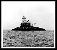 Penfield Reef Lighthouse. Image courtesy US Coast Guard