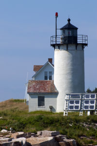Great Duck Island Lighthouse Tower in Maine