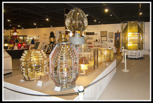 Maine Lighthouse Museum Fresnel Lenses