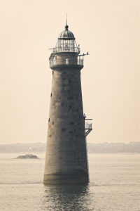 Minot's Ledge Lighthouse in Massachusetts