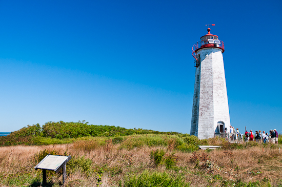 Faulkner's Island Lighthouse Tower Tour