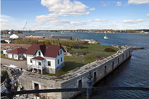 View From Portsmouth Lighthouse Tower