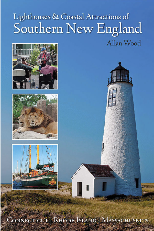 book of lighthouses in southern New England