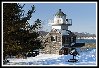 Rockland Harbor Southwest Lighthouse In Maine