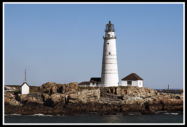 Boston Harbor lighthouse