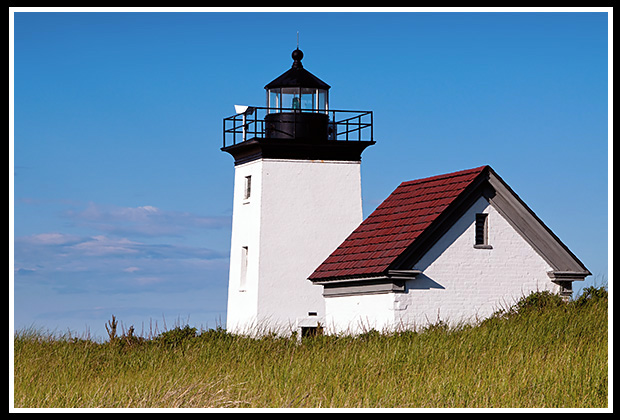 Long Point light in Provincetown