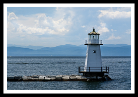 burlington north lighthouse