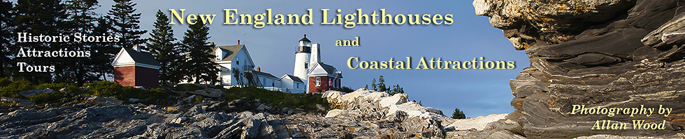 New England Lighthouses Banner